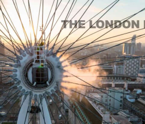 Karcher Cleans the London Eye