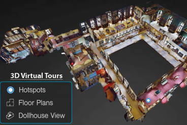 Immersive 3D Virtual Tours